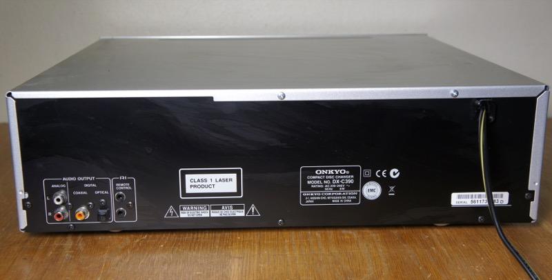 Onkyo DX-C390