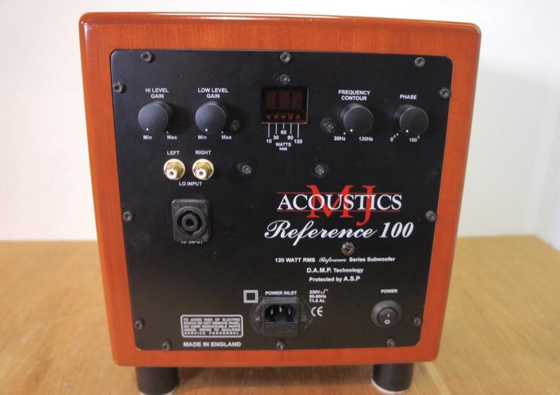 MJ Acoustics Reference 100