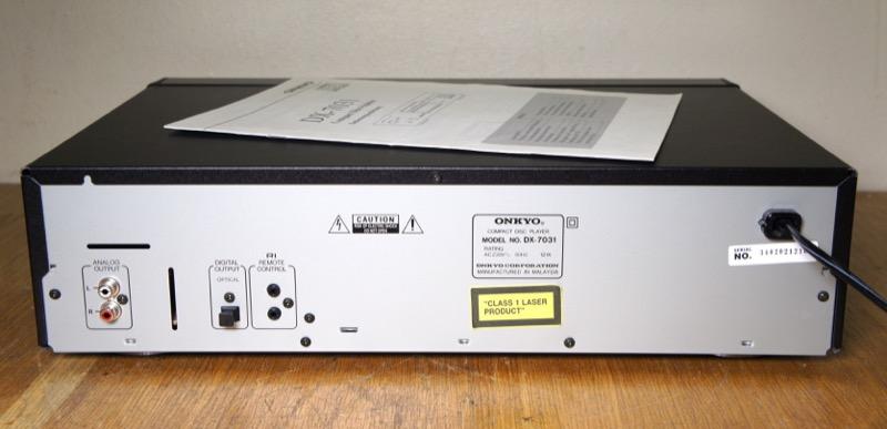 Onkyo DX-7031