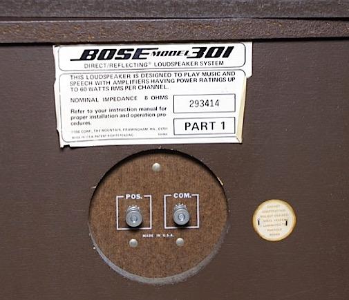 Bose 301