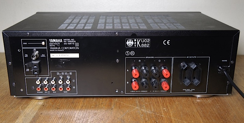 Yamaha RX-395RDS