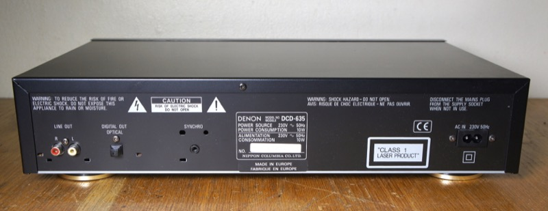 Denon DCD-635