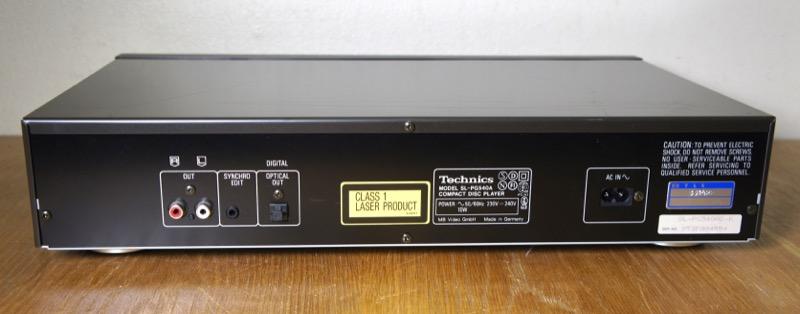 Technics SL-PG540A
