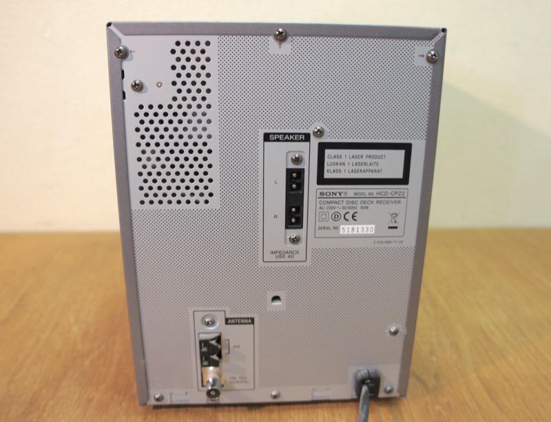 Sony CMT-CPZ2