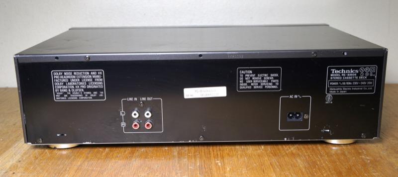 Technics RS-BX606