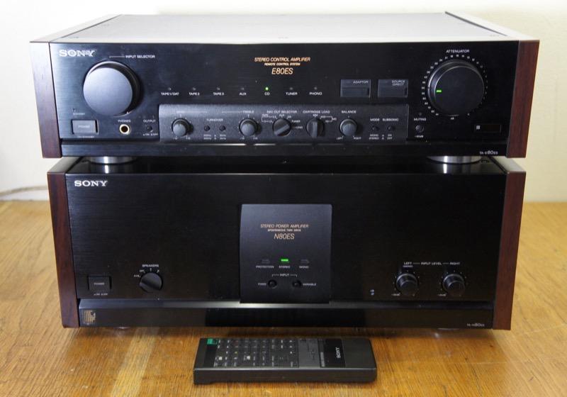 Sony TA-E80ES ja TA-N80ES
