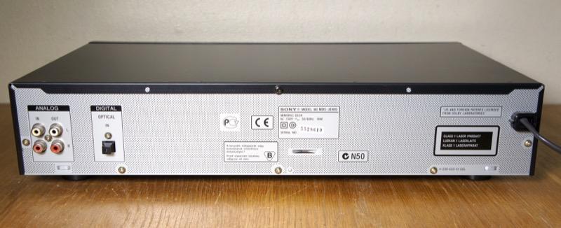 Sony MDS-JE480