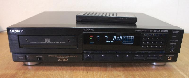 Sony CDP-227ESD