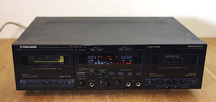 Pioneer CT-W650R