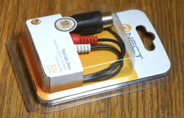DIN-RCA adapteri