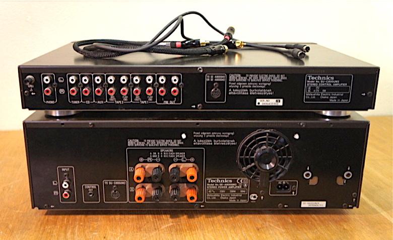 Technics SE-A800S Mk II & SU-C800UM2