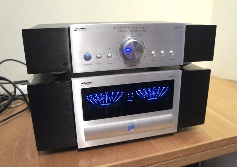 Advance Acoustics MAA406 ja  MPP-206