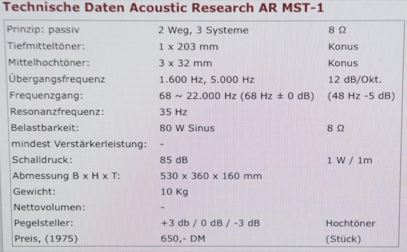 AR MST
