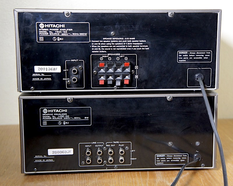 Hitachi HMA-G2 ja HGE-G2