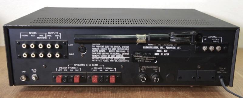 Harman/Kardon 430 Twin powered