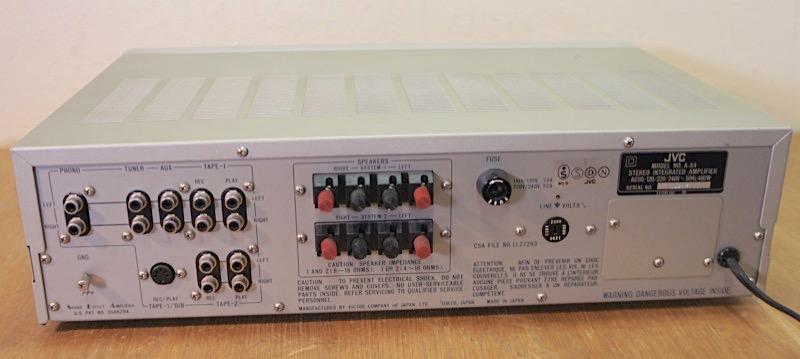 JVC A-X4