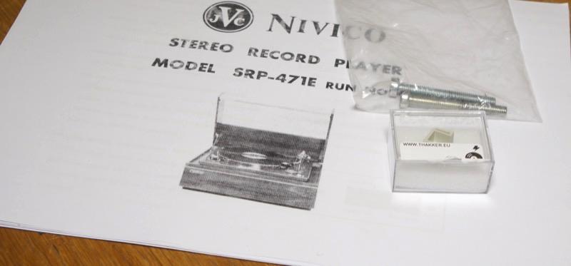 JVC Nivico SRP-471E-3