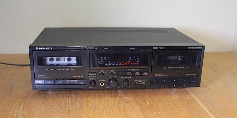 Pioneer CT-W550R