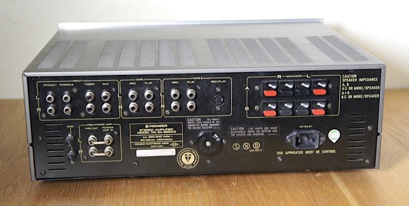 Pioneer 8500 mk II