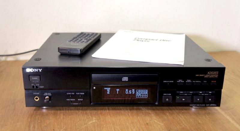 Sony CDP-X202ES