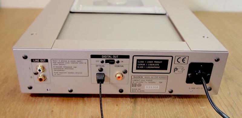 Sony CDP-X3000ES