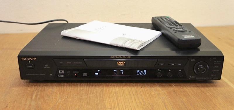 Sony DVP-NS700V