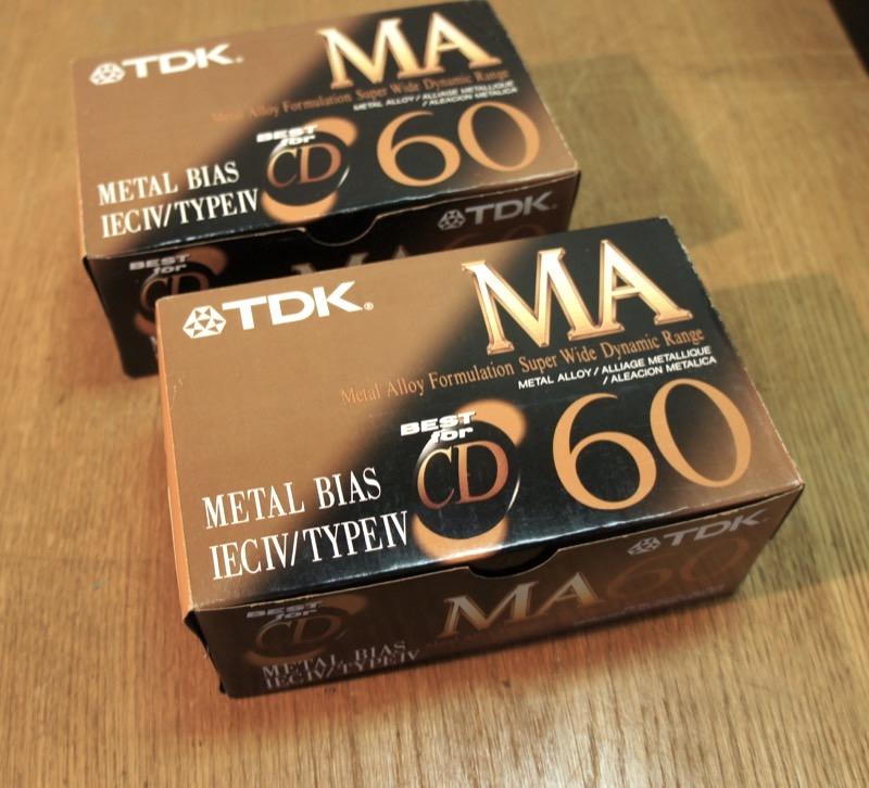 TDK MA60 Metal Bias