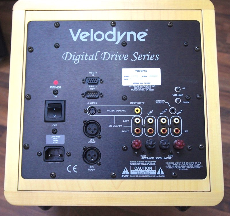 Velodyne DD-10 Subwoofer