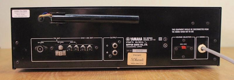 Yamaha CT-VI